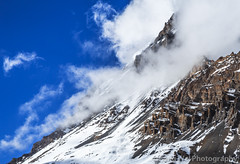 Clouds Over Yakwakang Peak, Thorung High Camp, Annapurna Circuit, Nepal (Feng Wei Photography) Tags: travel nepal cloud mountain snow color horizontal landscape asia outdoor scenic peak remote np annapurnacircuit annapurna himalayas manang gandaki westernregion annapurnahimal annapurnaconservationarea thoronghighcamp thorunghighcamp