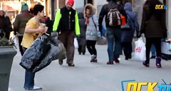 A Boy Stood on the Sidewalk in NYC Without a Coat for Two Hours in This Experiment — Watch Who Was the Only One to Stop (crossandcountrynews) Tags: charity chirstian homeles