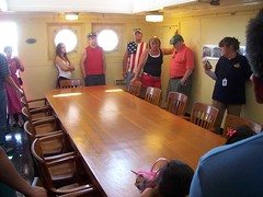 (mestes76) Tags: people minnesota reflections ships strangers mirrors tables duluth williamairvin 070414 shiptours