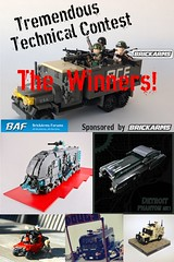 BrickArms Forums Tremendous Technical Contest - The Winners! (enigmabadger) Tags: war lego contest battle vehicle accessories minifig custom build moc warfare brickarms