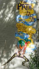 The Path Graffiti Mural by Tats Cru, East Harlem, New York City (jag9889) Tags: street city nyc newyorkcity usa ny newyork abstract art hope graffiti mural unitedstates harlem manhattan unitedstatesofamerica east spanish grupo dali eastharlem elbarrio spanishharlem tagging botero tatscru 2011 115thstreet y2011 jag9889