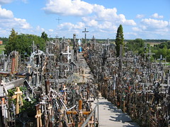 A Collection of Crosses in Lithunia