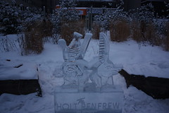 Icefest 8 (codie_horse) Tags: toronto statues talent wintertime yorkville icecarving frozenintime 2015 ancientegyptian blooryorkville 10thyear madeofice 10thannualicefest icefest15 bloorandyorkville