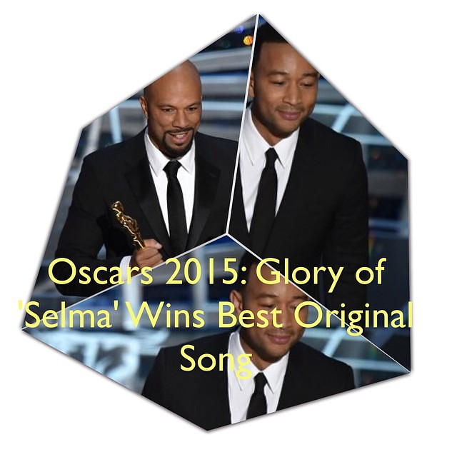 Oscars 2015: Glory of SELMA Wins Best Original Song