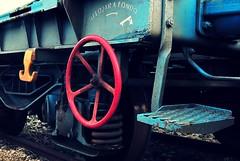 Three colors... (caterinag.delrossi) Tags: espaa station train tren spain catalonia girona catalua estacin gerona llan