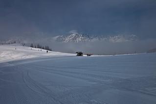 Tyrol . Wintertime