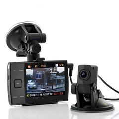 3.5 Inch Display HD 720p Dual Camera (forward and rear view) Car DVR video recorder S3000 (lewistodd234) Tags: camera video inch view display rear dual recorder forward s3000 720p