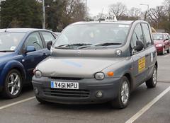 2001 Fiat Multipla 110 ELX JTD Taxi (Spottedlaurel) Tags: fiat taxi multipla fiatmultipla