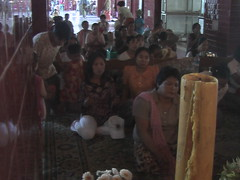 Folk Buddhist Worship Mandalay