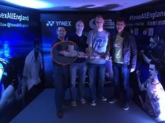 Yonex All England 2015 - Badminton Club Twitter Meetup