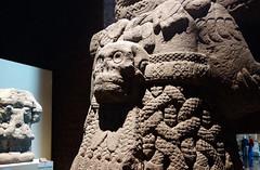Coatlicue, view of back, c. 1500, Mexica (Aztec)