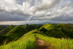 Greenhills of Quitinday (gpqua) Tags: quitinday albay bicol philippines greenhills mayon volcano rolling hills bohol chocolate pinas 1018mm
