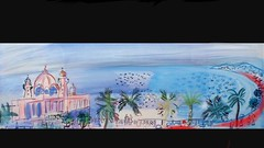 Bastille Day Terrorist Attack in Nice,...screen capture of the famous painter Raoul Dufy.. Respect for innocent people who  horror is without borders (bernawy hugues kossi huo) Tags: france painting nice respect memories compassion des soul promenade painter raoul promenadedesanglais raouldufy dufy anglais