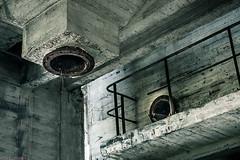 _O7A8984 (AntonyCASAFilms) Tags: urban abandoned monochrome concrete 3d factory belgium exploring plan marshall maze coal escher exploration derelict washing ue urbex