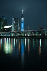 DSC01706 (Zengame) Tags: cloud tower japan architecture night zeiss tokyo cloudy sony illumination landmark illuminated cc creativecommons   rx iki       skytree rx1 komagatabashi   tokyoskytree  rx1r rx1rm2 rx1rmark2