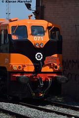 071 at Connolly, 19/7/16 (hurricanemk1c) Tags: dublin irish train gm rail railway trains railways irishrail generalmotors supertrain 2016 emd connolly 071 iarnrd ireann iarnrdireann retrotrain 1330inchicoreconnolly rpsidieseltransfer