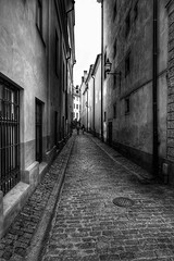Gamlastan (la1cna) Tags: street streetphotography texture city urbanlandscape citylife oldstreet oldhouses monochrome bnw stockholm fujifilm