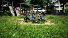 Samutprakan Thailand Grass Playground Playgrounds Blue Color Green at  (markusg2010) Tags: green grass playground thailand playgrounds bluecolor samutprakan