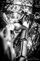 Marauder Ashe (Hannibal Navia) Tags: nikon d800 bn bw cosplay lol leagueoflegends ashe