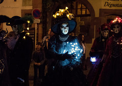 Nocture Riquewihr 2016 - 290 (Cloudwhisperer67) Tags: canon fantastic carnival riquewihr alsace france 2016 parade 760d venetian masquerade ball masked mask venise venezzia venice italy cloudwhisperer67 fest great colors flashy incredible amazing photgraphy love lovely adorable red blue yellow orange robes robe costume costumes bal masqu divine comedy women girls girl woman splendid nigth light lights nighscape scape urban city cityscape magic magical moment poetry image photography fantasy bokeh travel trip color people carnaval art fun europe europa 760 vnitienne
