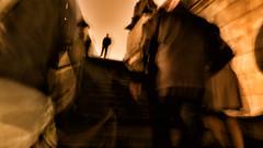 The other (johann walter bantz) Tags: bridge urban abstract paris modern dark lumix artwork europe vision melancholy flou imaginative