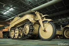 20160716-095947-5D3_4319 (zjernst) Tags: museum virginia desert aviation military wwii tan tracks german vehicle afrika tug 2016 treads kettenkrad