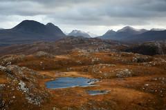 A Moody Day (svensl) Tags: scotland schottland scottish north west highlands torridon winter autumn snow hills mountains landscape