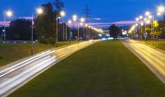P7290012_v1 (jakubste) Tags: krakow cracow city night traffic