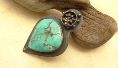 Turquoise Ring (annacmei) Tags: copperjewelry copper ring turquoise rustic statement annamei