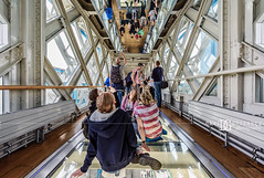 """Mirror and Glass"" Tower Bridge, London, UK (davidgutierrez.co.uk) Tags: london city architecture art photography davidgutierrezphotography nikond810 nikon urban interior color londonphotographer travel bridge people uk towerbridge towerbridgeexhibition glassfloor glass colors colour colours colourful vibrant photographer england unitedkingdom  londyn    londres londra europe beautiful cityscape davidgutierrez capital structure britain greatbritain ultrawideangle afsnikkor1424mmf28ged 1424mm d810 arts landmark attraction historic reflection iconic icon touristattraction riverthames highlevelwalkways symmetry perspective towerhamlets southwark person street mirror"