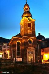 Monschau by night (02) (Ld\/) Tags: old city trip night germany deutschland town europe eifel juillet allemagne monschau mdieval nightcity 2016 citytrip montjoie altstatt