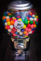 (215/366) Bubble Gum (CarusoPhoto) Tags: gum gumball machine ball iphone 6 plus john caruso carusophoto photo day project 365 366 mall shopping banal mundane ordinary everyday