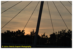 1 (duport.patrick) Tags: bobigny passerelle ourcq outdoor 93 picture architecture sunset sky fresh