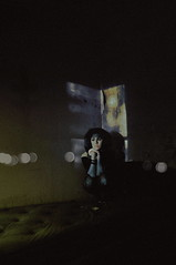 (emmakatka) Tags: abandoned house abandonment derelict decay abandonedhouse emmakatka woman portrait alone lonely corner wall window light night insomnia northdakota shadow shadows eyes creepy eerie