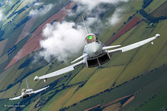 RAF Typhoons flying the beautiful british countryside... © Nir Ben-Yosef (xnir) (xnir) Tags: raf typhoons flying beautiful british countryside © nir benyosef xnir