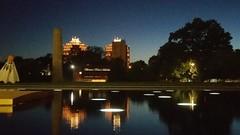 Plaza Sunset (georgepettigrew) Tags: night nightfall sky twentieth century country club plaza nelsonatkins museum art dark evening