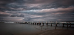 Out to sea (tara.bowen) Tags: sunrise narrabeen