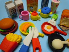 International Breakfast Time Erasers (My Sweet 80s) Tags: internationalbreakfast sandwiches colazione milk latte milkshake sausage salsiccia hamburger panino padelle pentole caff coffee t eggs eggsandbacon friedchips fries bread spoon wok cofeemug tea teapot biscuits cereali fryingpan pan knife fork coltello forchetta tavolaimbandita ladentable breakfasttime colazioneinternazionale freshmilk vegetables verdure piatto hamburgerpanino thecaffcoffee eggsbacon cofee mug cupoftea biscotti breakfastcereals erasers vintageerasers anni80 gomminevintage gommineanni80 80serasers gommedacollezione vintageerasercollection gommedacancellare