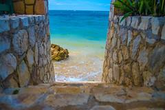 _JAM7452 (Jamil D750) Tags: jamaica smoked marlin sunny ocean beach oceanview view restaurant tropical blue sky waves nikon nikond750 green yellow orange stone