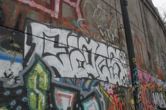 Cats (NJphotograffer) Tags: graffiti graff new jersey nj bumtrail riverwalk cats ckd void ldz crew