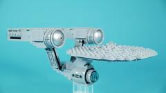 LEGO USS Enterprise NCC-1701 (Kelvin timeline) (BRICK 101) Tags: lego startrek trek enterprise ncc1701