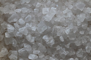 Salt grains