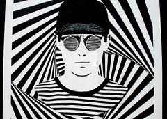 Blackpool Urban Art - 12 (Tony Worrall) Tags: blackpool resort place england english north northwest visit county town area northern location lancs lancashire uk fylde fyldecoast coastal tour ©2016 tony worrall country welovethenorth street urban streetart paint painted wall show urbanart daub made graffiti mural arty sandseaspray