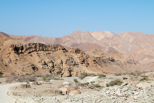 Northern landscape with Afar settlement