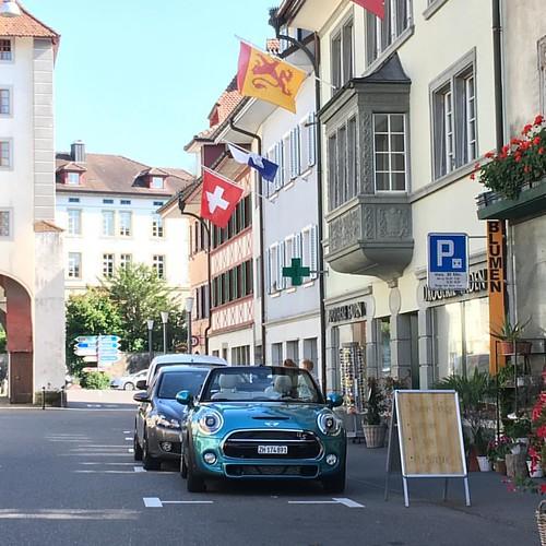 #MINI Cabrio Cooper S in Sempach, Lucerne.