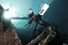 Freediving Apnoe Scubapro (ehovermann) Tags: model apnoe freediving freitauchen subapro gischt wellen wave fins wetsuit scubapro element dorishovermann sundown storm sturm beach strand underwaterscooter unterwasserscooter wwwwetpagede elba malta