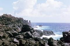 Maui (kawehna) Tags: pentax k1000 35mm fujifilm colorfilm filmisnotdead ishootfilm asahi hawaii maui hike travel adventure wanderlust blowhole nature outdoors vacation island pacificocean waves sea gratitude