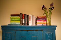 menu (keith midson) Tags: kitchen cookbooks books cupboard