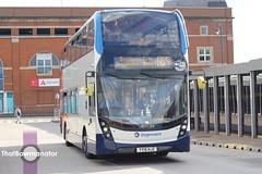 Stagecoach Manchester 80027 (Bluke's Photography) Tags: stagecoach manchester 80027 adl e400 enviro 400 mmc demonstrator ashtonunderlyne bus station