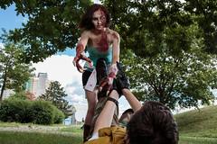 Zombie attaks! (Crones) Tags: canon 6d canoneos6d czech czechrepublic praha prague canonspeedlite580exii canonspeedlite 580exii advik advik2016 anime cosplay people